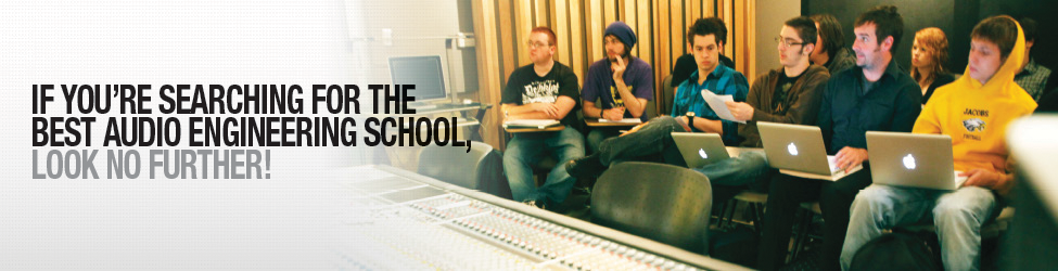 If you're searching for the best audio engineering school, look no further!