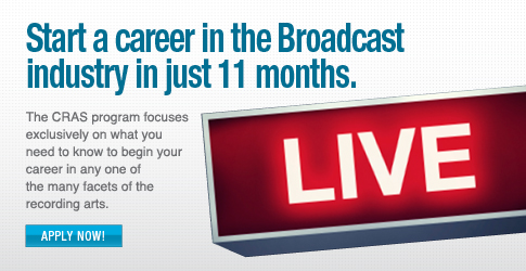 Start a career in broadcast sound in just 12 months.