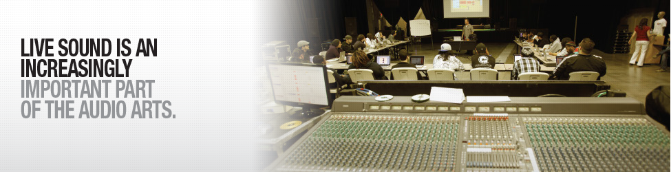 Live sound is an increasingly important part of the audio arts.