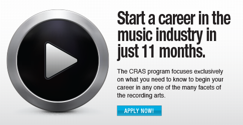 Start a career in the music industry in just 11 months.