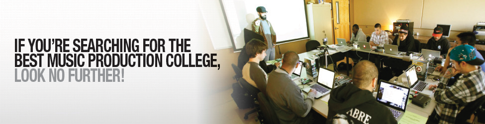 If you're searching for the best music production college, look no further!