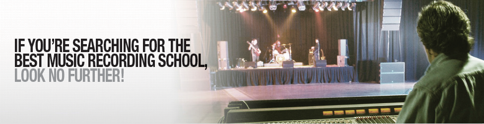 If you're searching for the best music recording school, look no further!