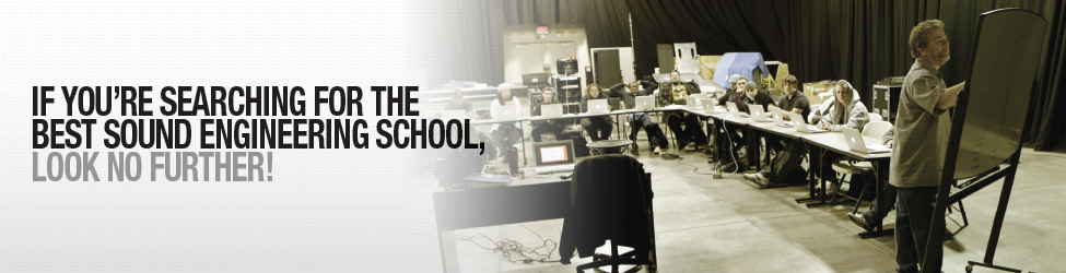 if you're searching for the best sound engineering school, look no further!