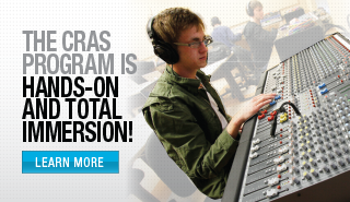 Open House - Your career in audio is only 12 months away - click here.