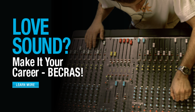 Love sound?  Make it your career - click here.